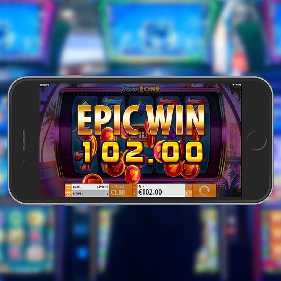 Prime Zone Slot Machine Epic Win