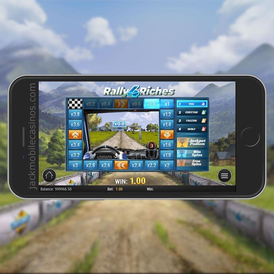 Rally 4 Riches Slot Machine