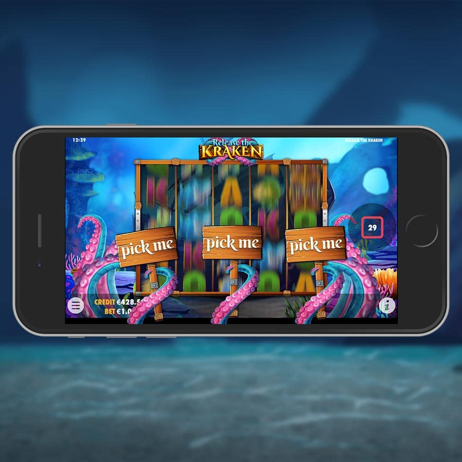 Release the Kraken Slot Machine