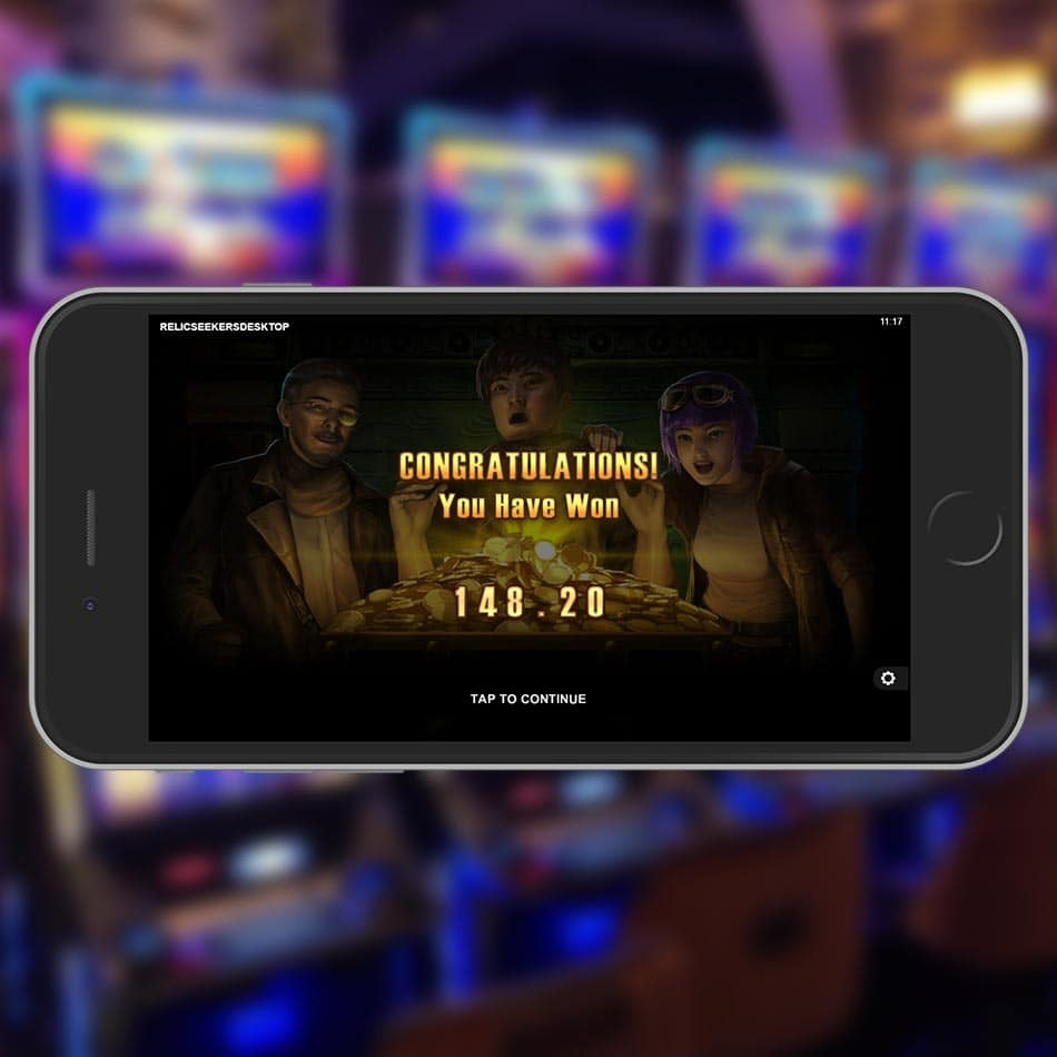 Relic Seekers Slot Machine Free Spins Total Win