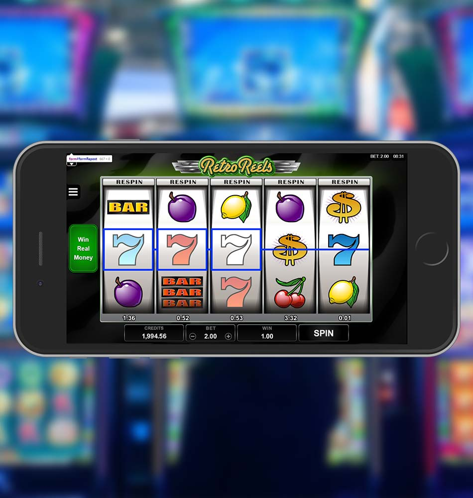 Retro Reels Slot Free Win After Respin