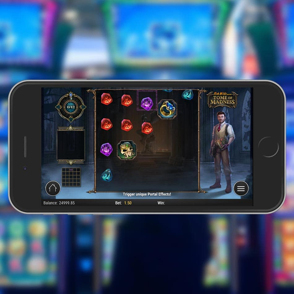 Rich Wilde and the Tome of Madness Slot Machine Free Play