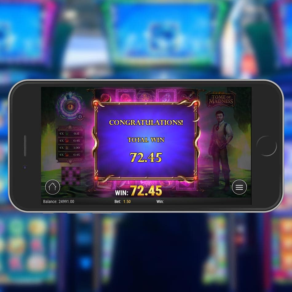 Rich Wilde and the Tome of Madness Slot Machine Free Spins Total Win