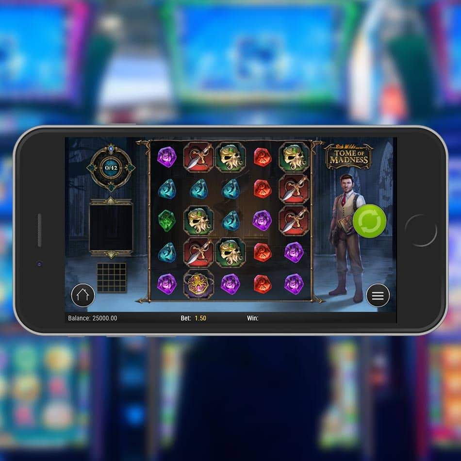 Rich Wilde and the Tome of Madness Slot Machine Review