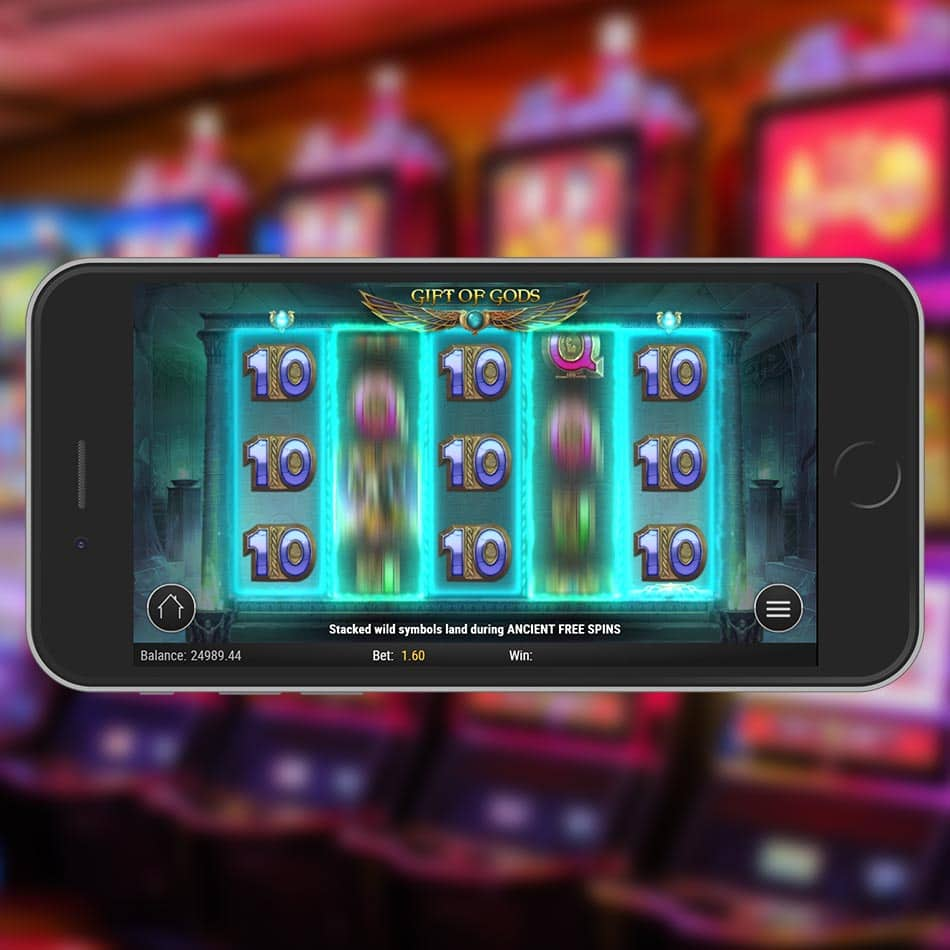 Rise of Dead Slot Machine Gift of Gods Feature