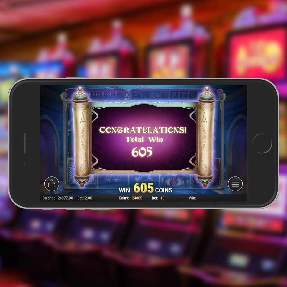 Rise of Merlin Slot Machine Free Spins Total Won