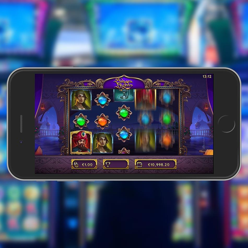 Sahara Nighst Slot Machine Free Play