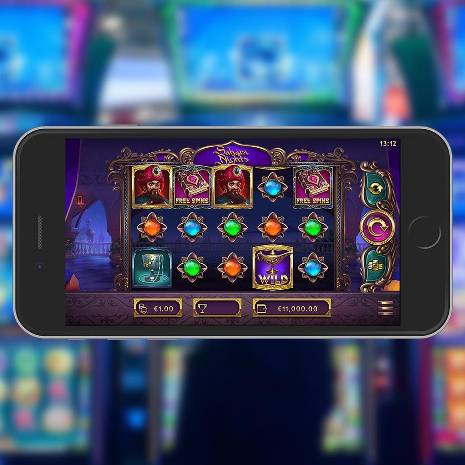 Sahara Nights 🌙 Slot | Free Play | Expanding Wilds