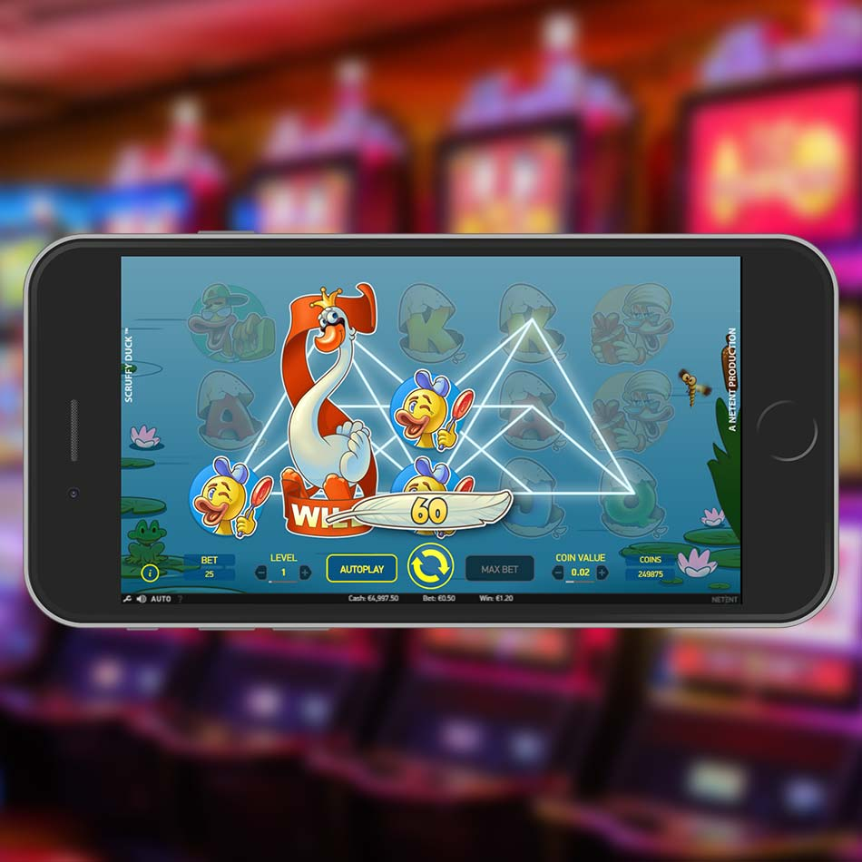 Scruffy Duck Slot Free Play Expanding Wilds
