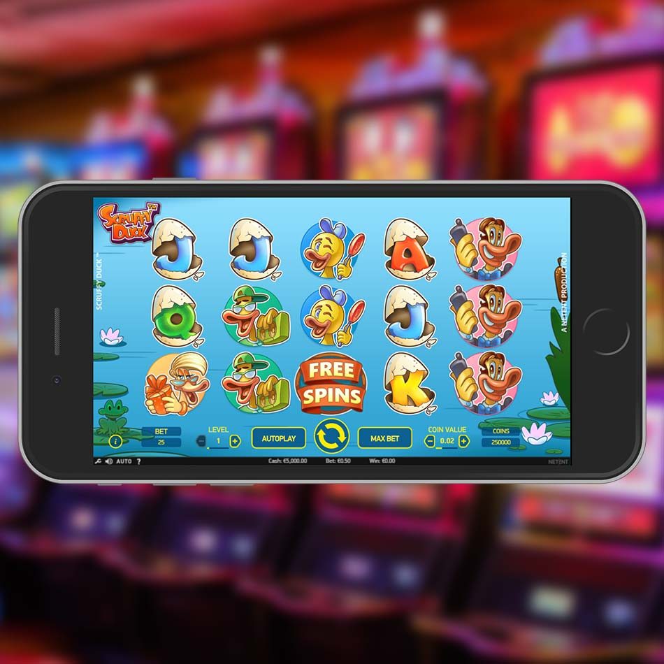 Scruffy Duck Slot Free Play Home Page