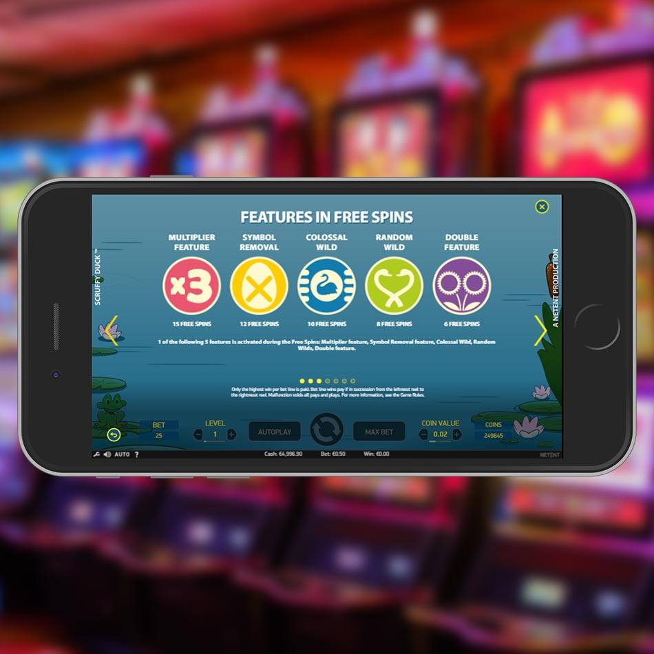 Scruffy Duck Slot Free Play Special Feature