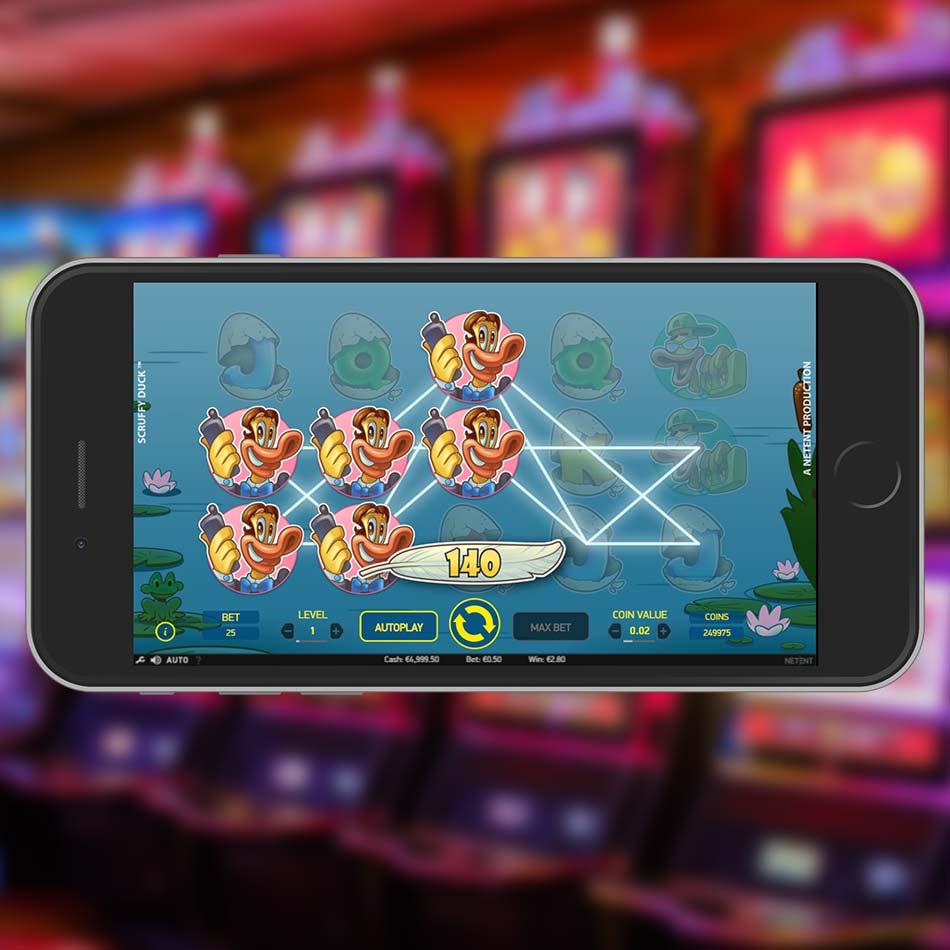 Scruffy Duck Slot Free Play Win