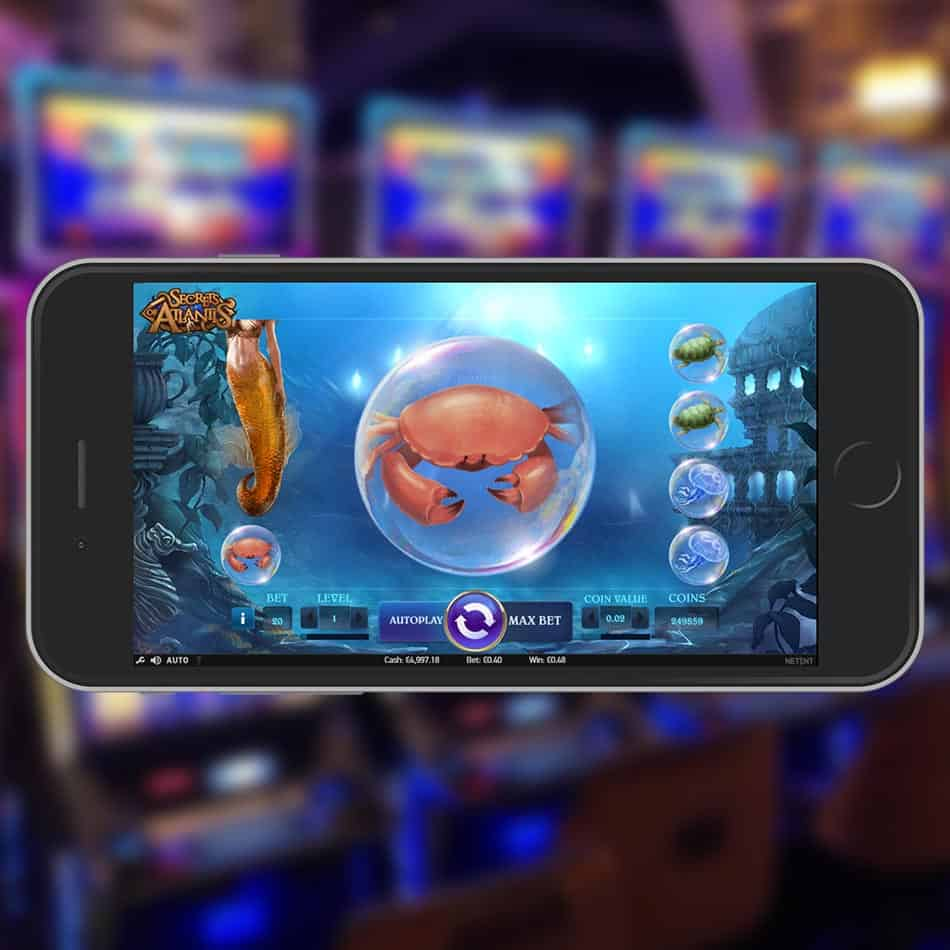 Secrets Of Atlantis Slot Machine Colossal Symbol