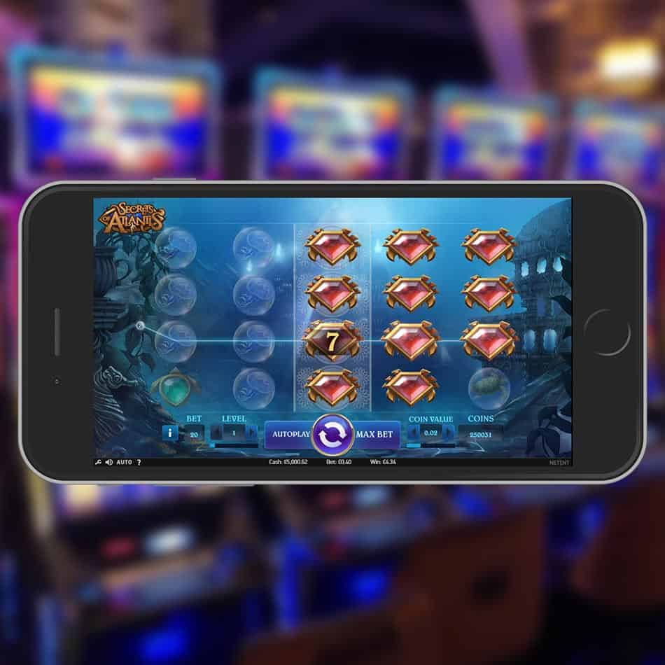 Secrets Of Atlantis Slot Machine Huge Win