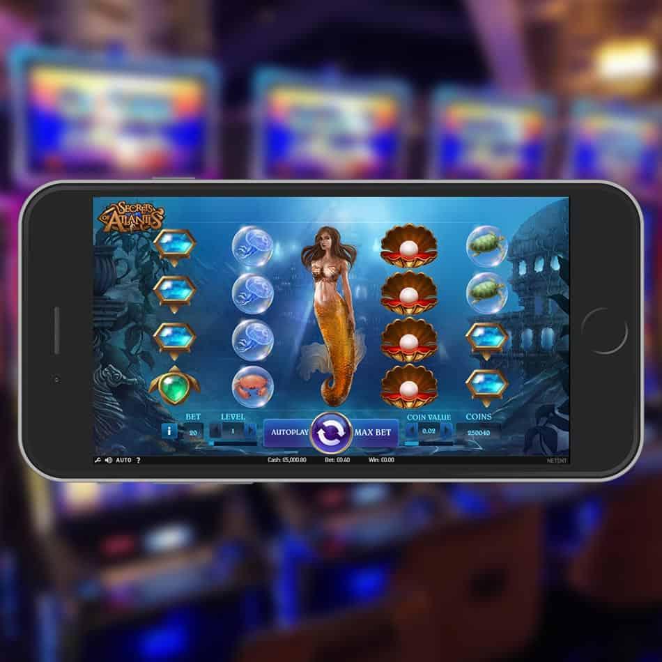 Secrets Of Atlantis Slot Machine Review