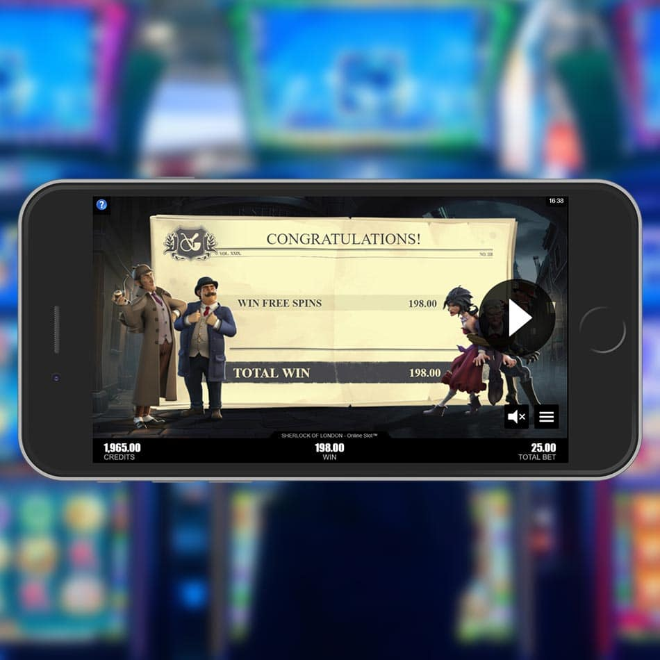 Sherlock of London™ Slot Machine Free Spins Total Win