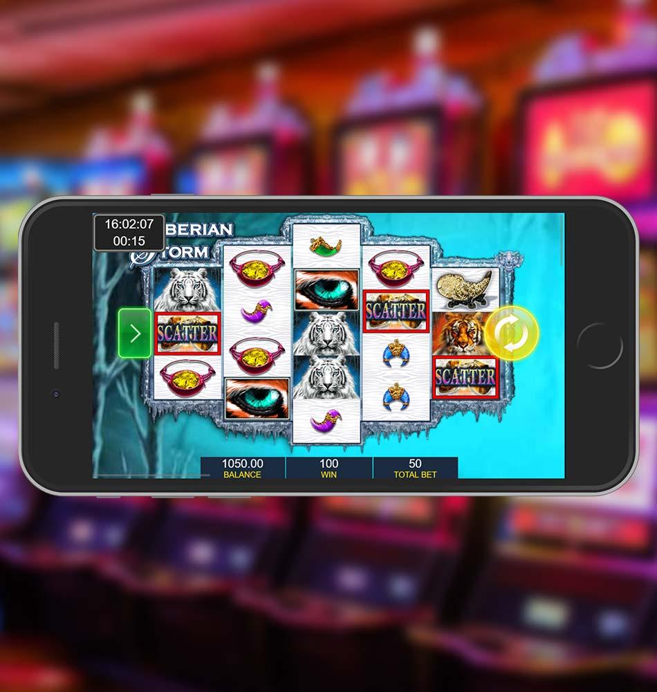 Siberian Storm Slot Machine Scatter Win
