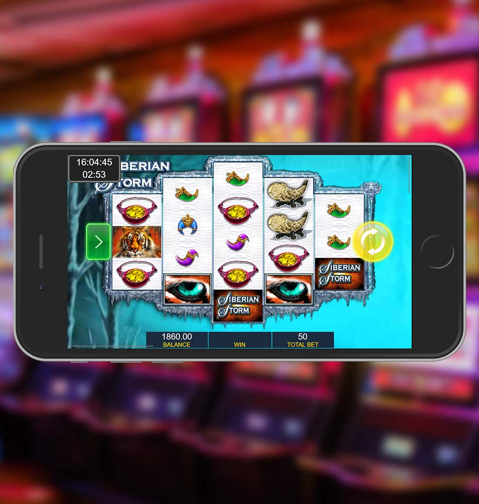 Siberian Storm Slot Machine Win