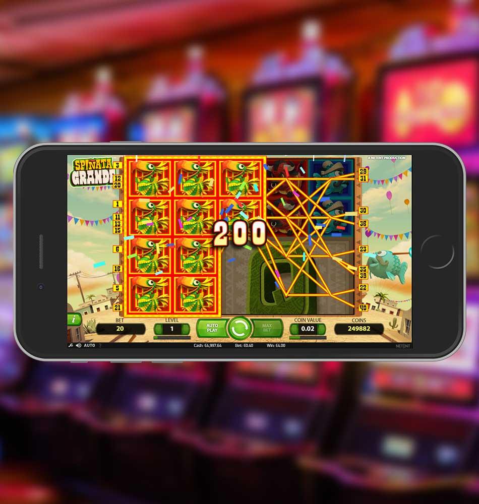 Spinata Grande Slot Machine Big Win