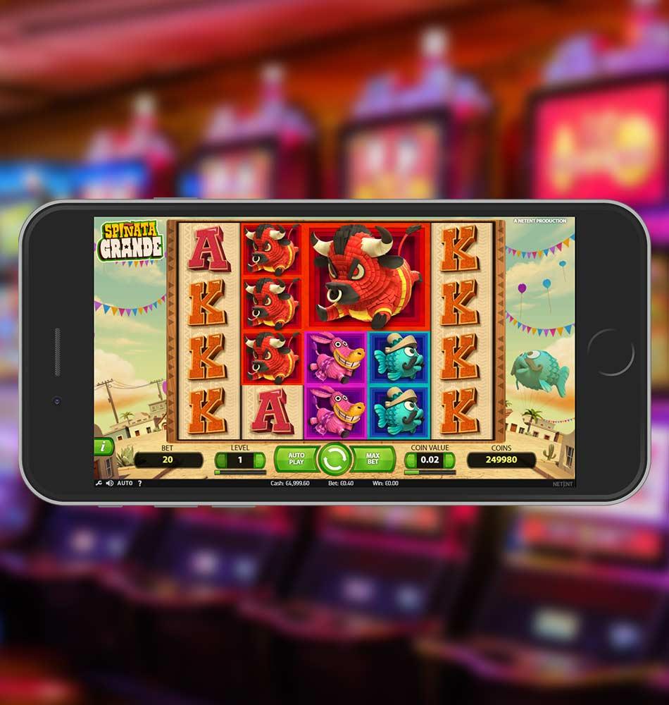 Spinata Grande Slot Machine Home Page