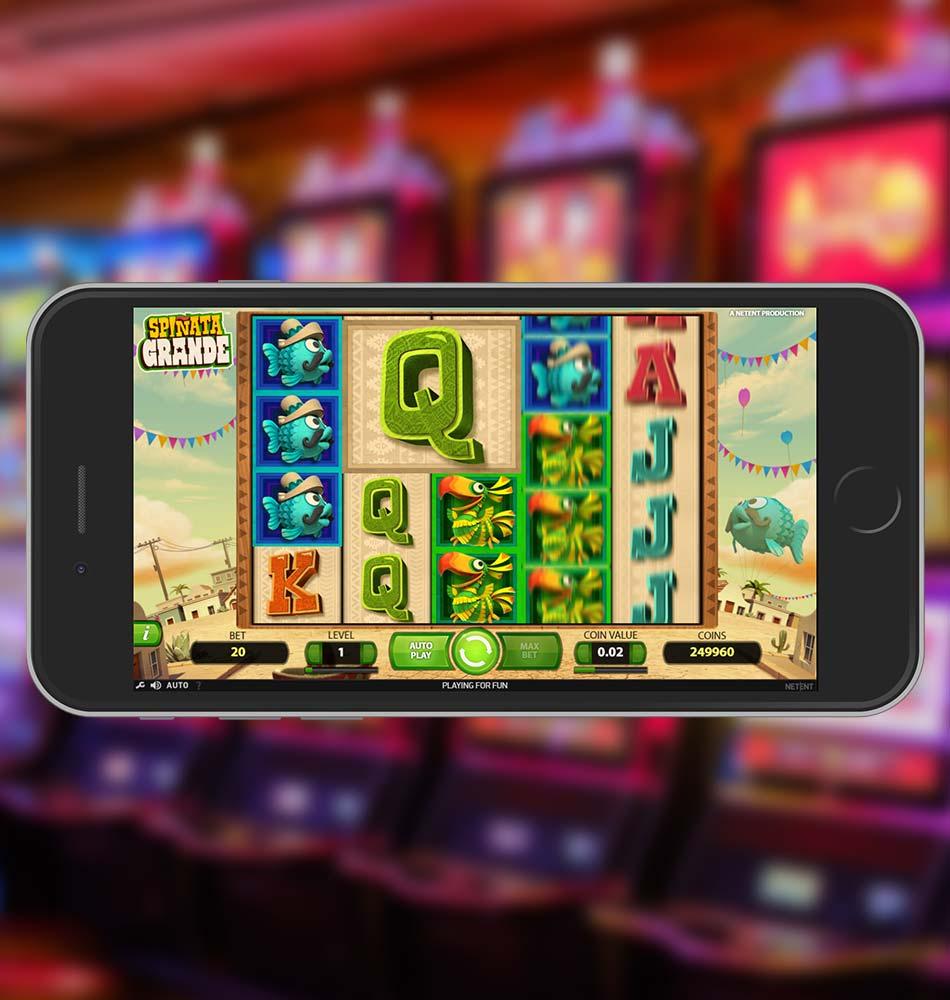 Spinata Grande Slot Machine Spinning Phase