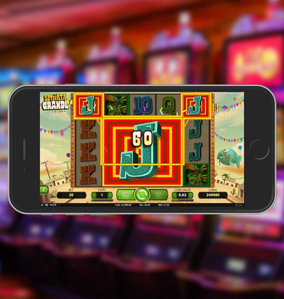Spinata Grande Slot Machine Win