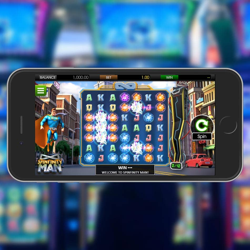 Spinfinity Man Slot Machine Review