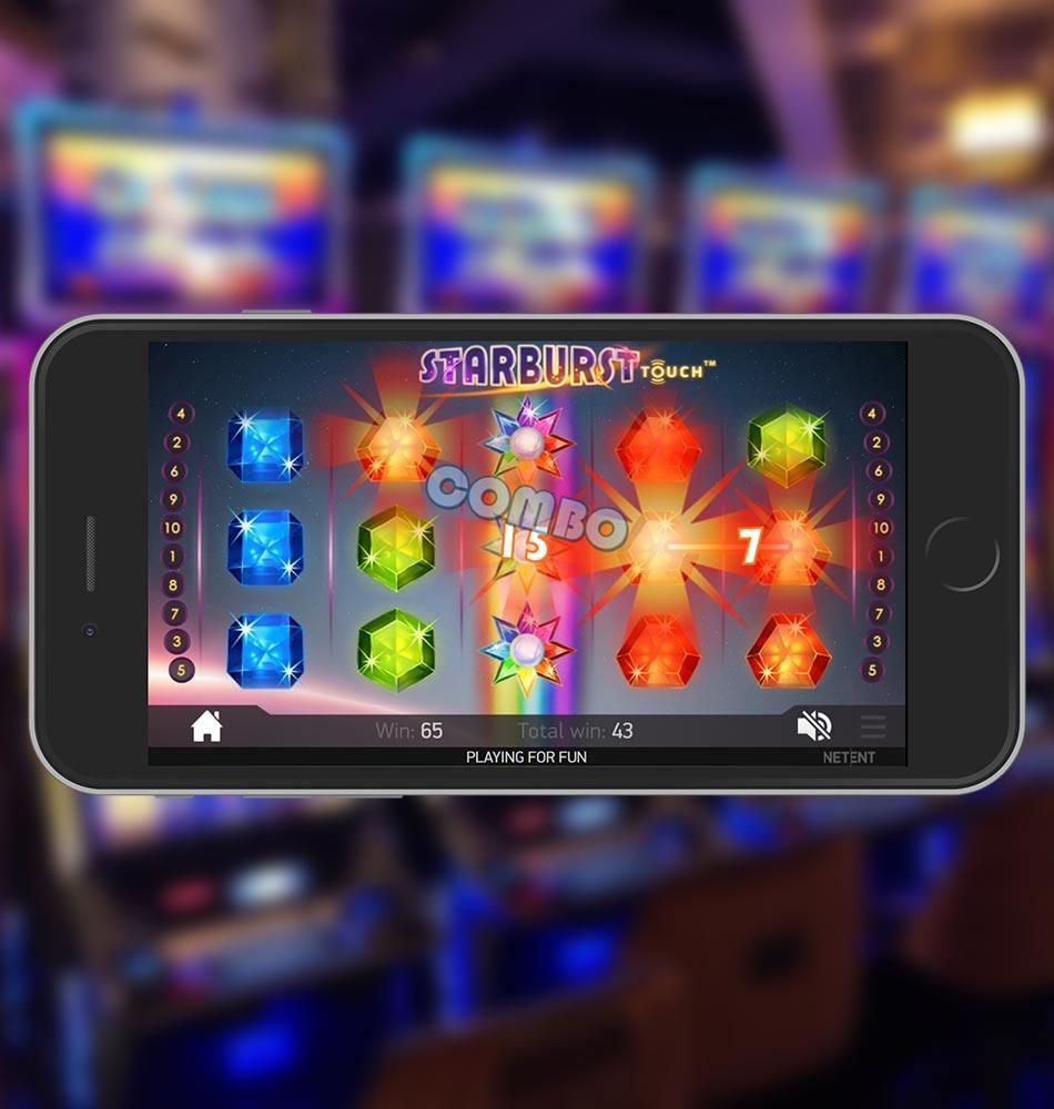 Starburst Mobile Slot Machine Super Combo