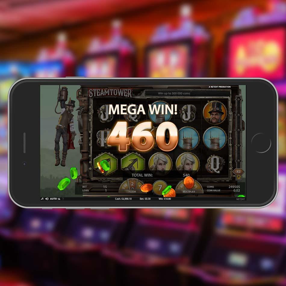 Steam Tower Slot Demo Mega Win