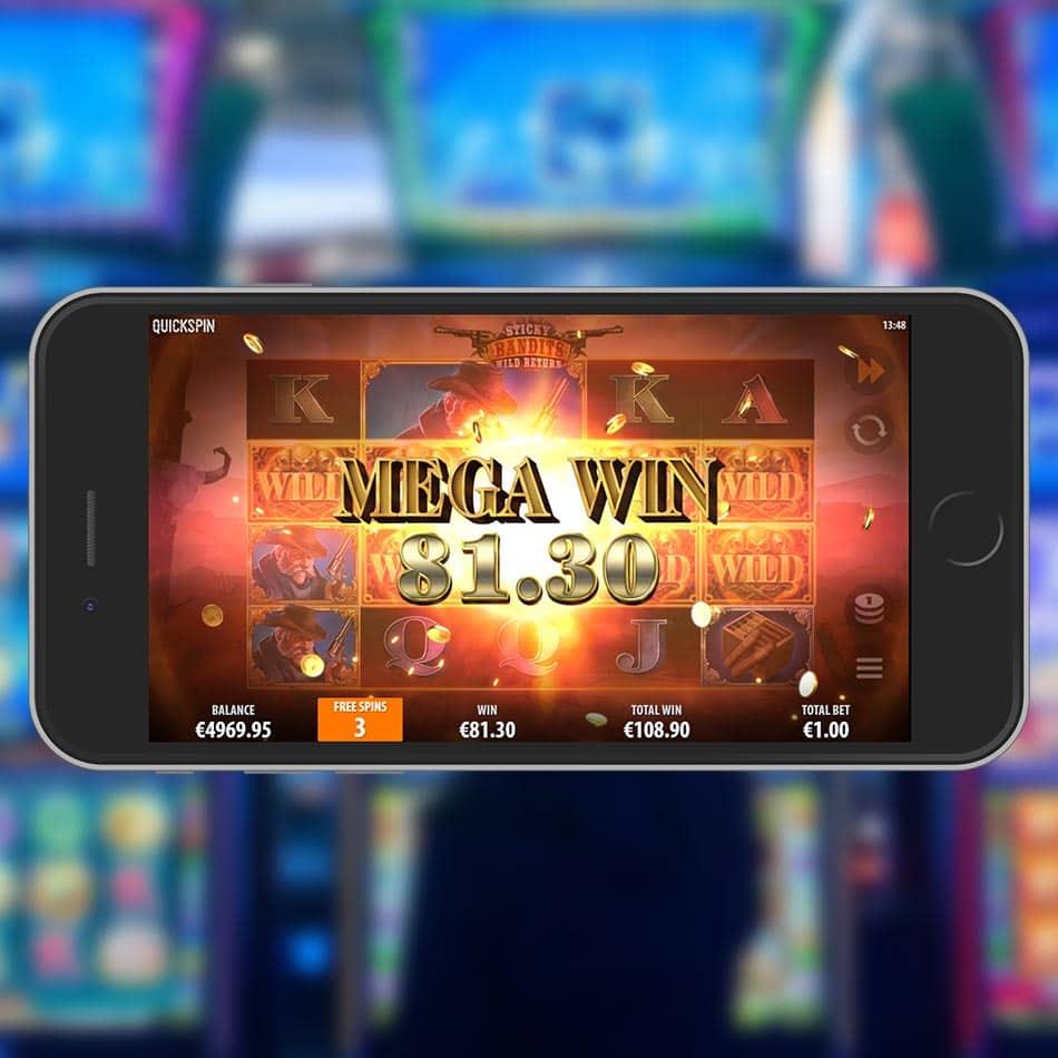 Wild Bandits Slot Machine