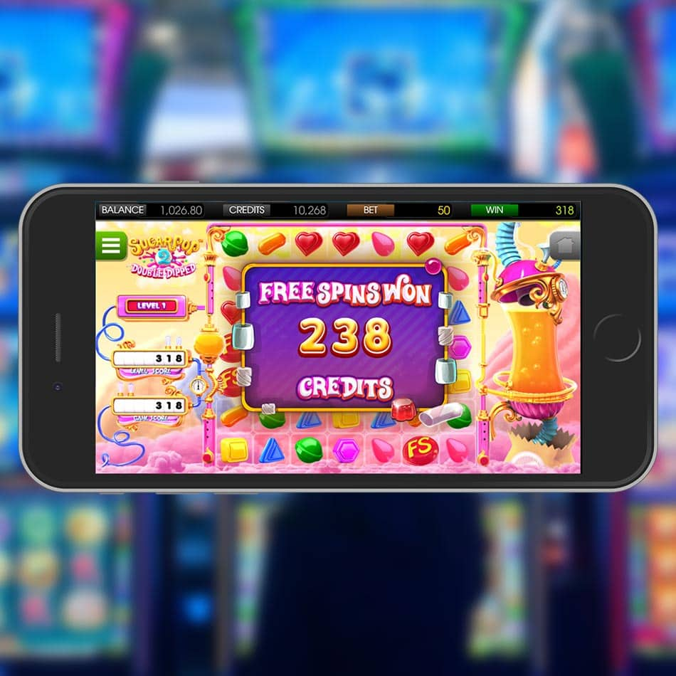 Sugar Pop 2: Double Dipped Slot Machine Big Win