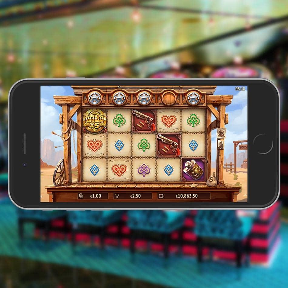 The One Armed Bandit Slot Machine Multiplier Wild