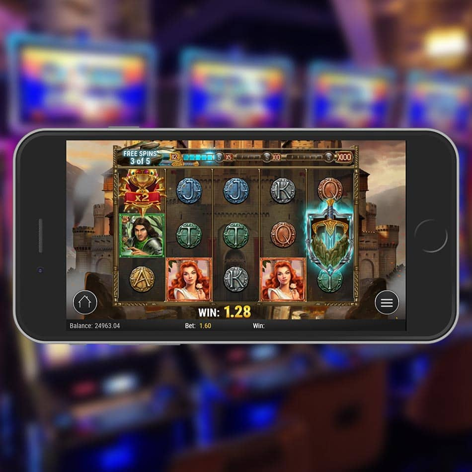 The Sword and the Grail Slot Machine Free Spins Bonus Game Stage