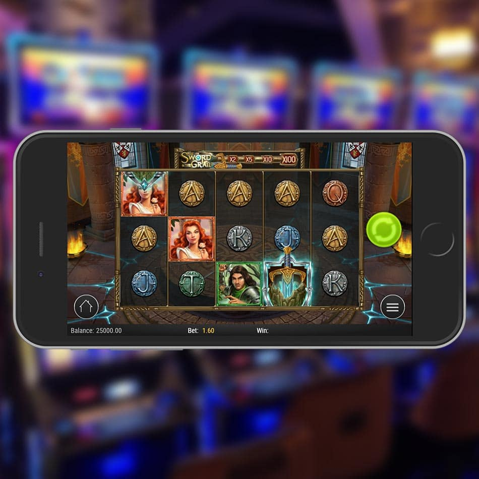 The Sword and the Grail Slot Machine Review