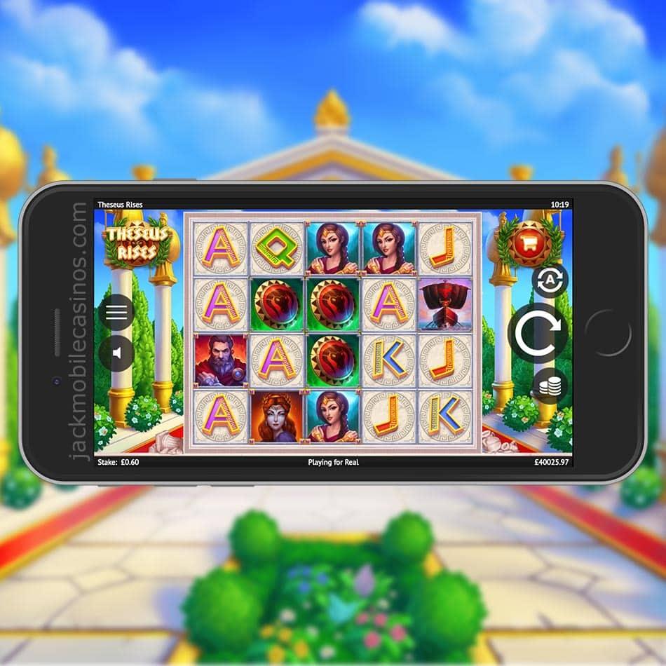 Theseus Rises Slot Machine