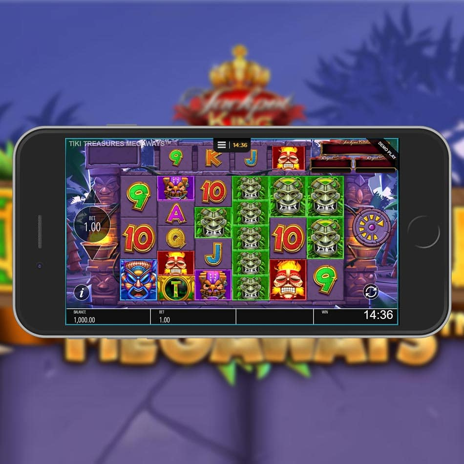Tiki Treasures Slot Machine