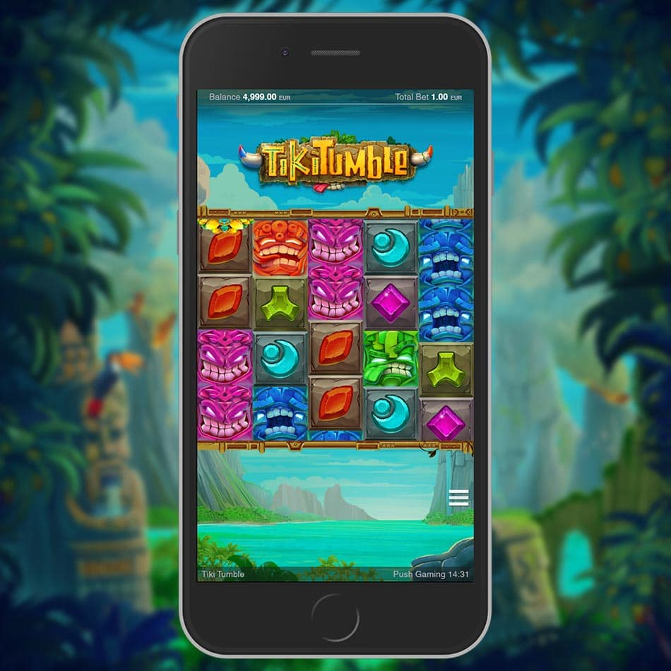 Tiki Tumble Slot Machine Free Play