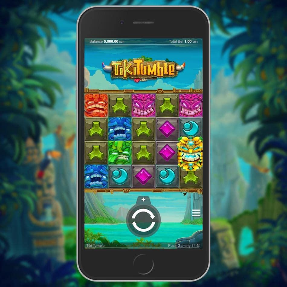 Tiki Tumble Slot Machine Review