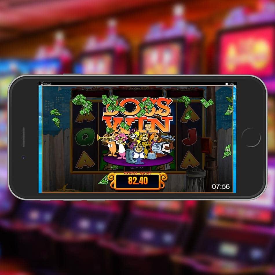 Top Cat Slot Machine Huge Win