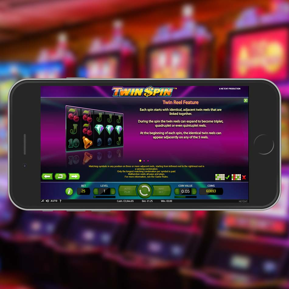 Twin Spin Slot Machine Terms