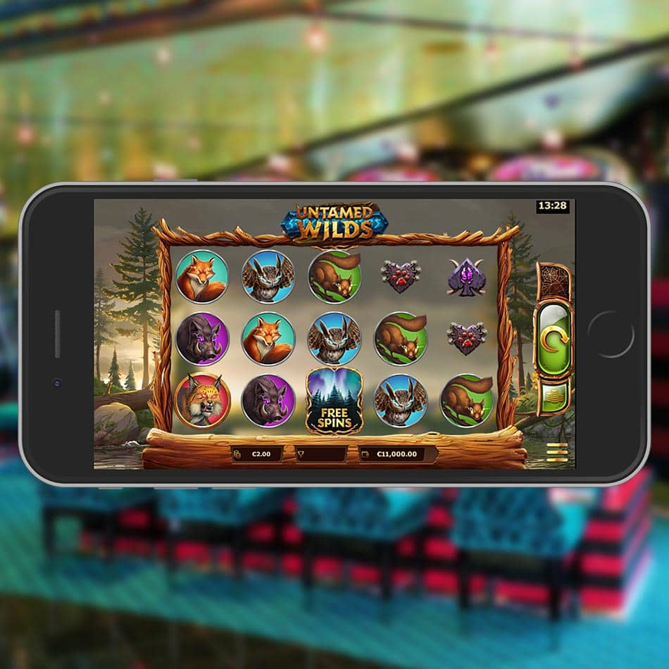 Untamed Wilds Slot Machine Review