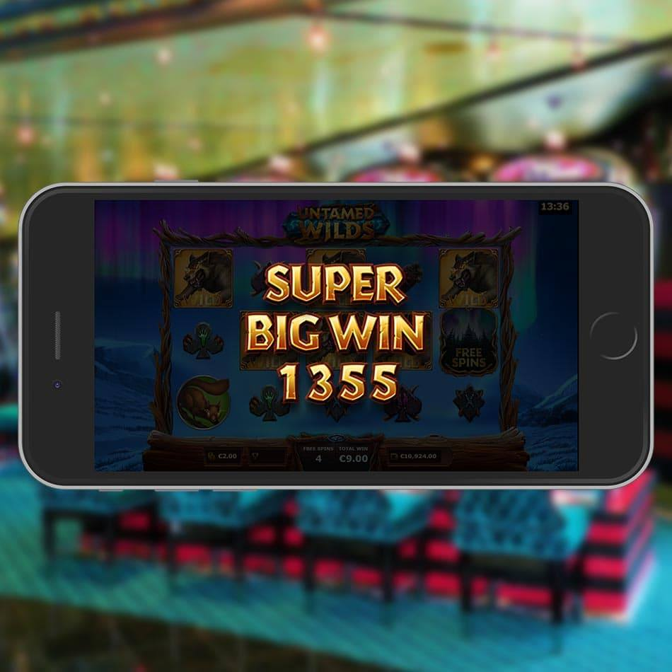 Untamed Wilds Slot Machine Super Big Win