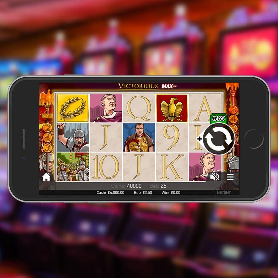 Victorious MAX Slot Machine Review