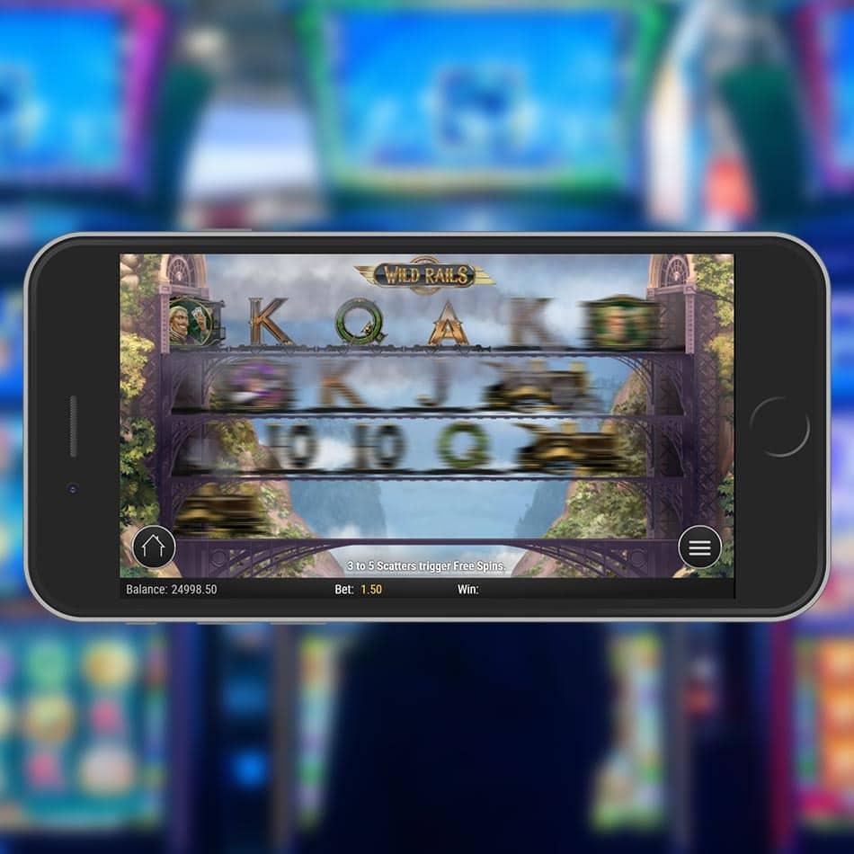 Wild Rails Slot Machine Free Play