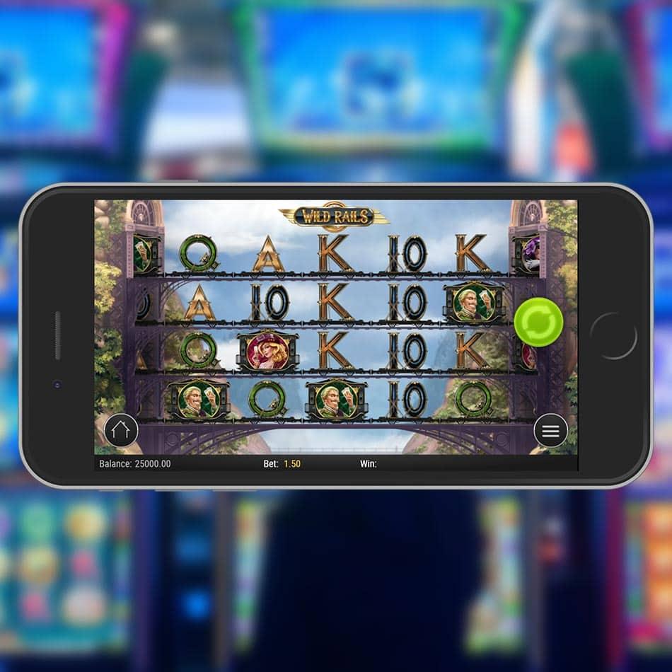 Wild Rails Slot Machine Review