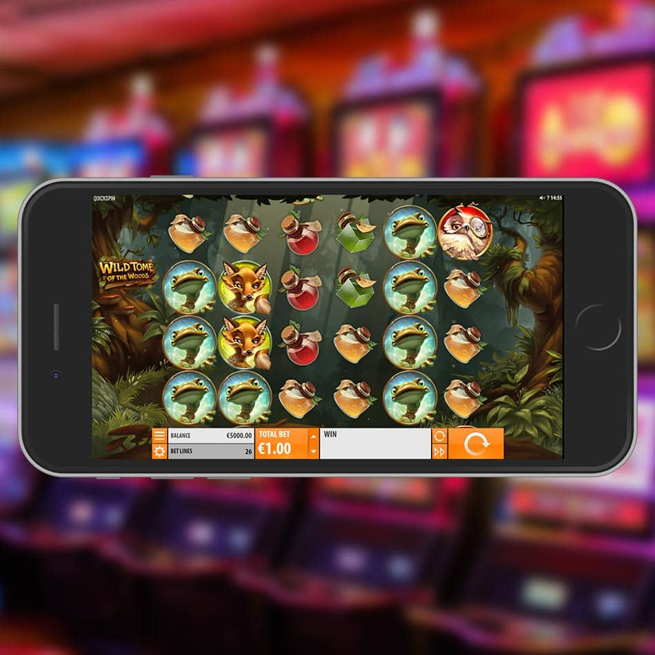 Wild Tome of the Woods Slot Machine Review