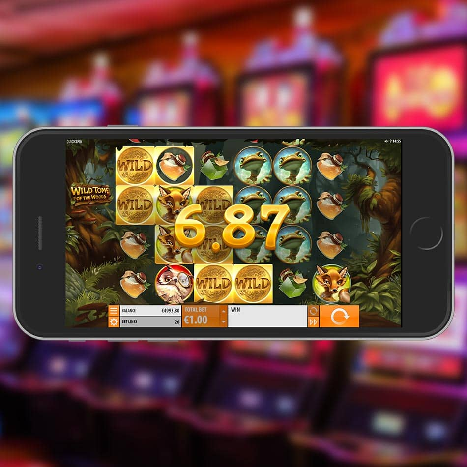 Wild Tome of the Woods Slot Machine Win