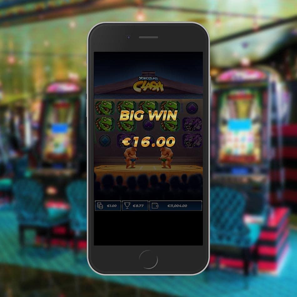 Yokozuna Clash Slot Machine Big Win