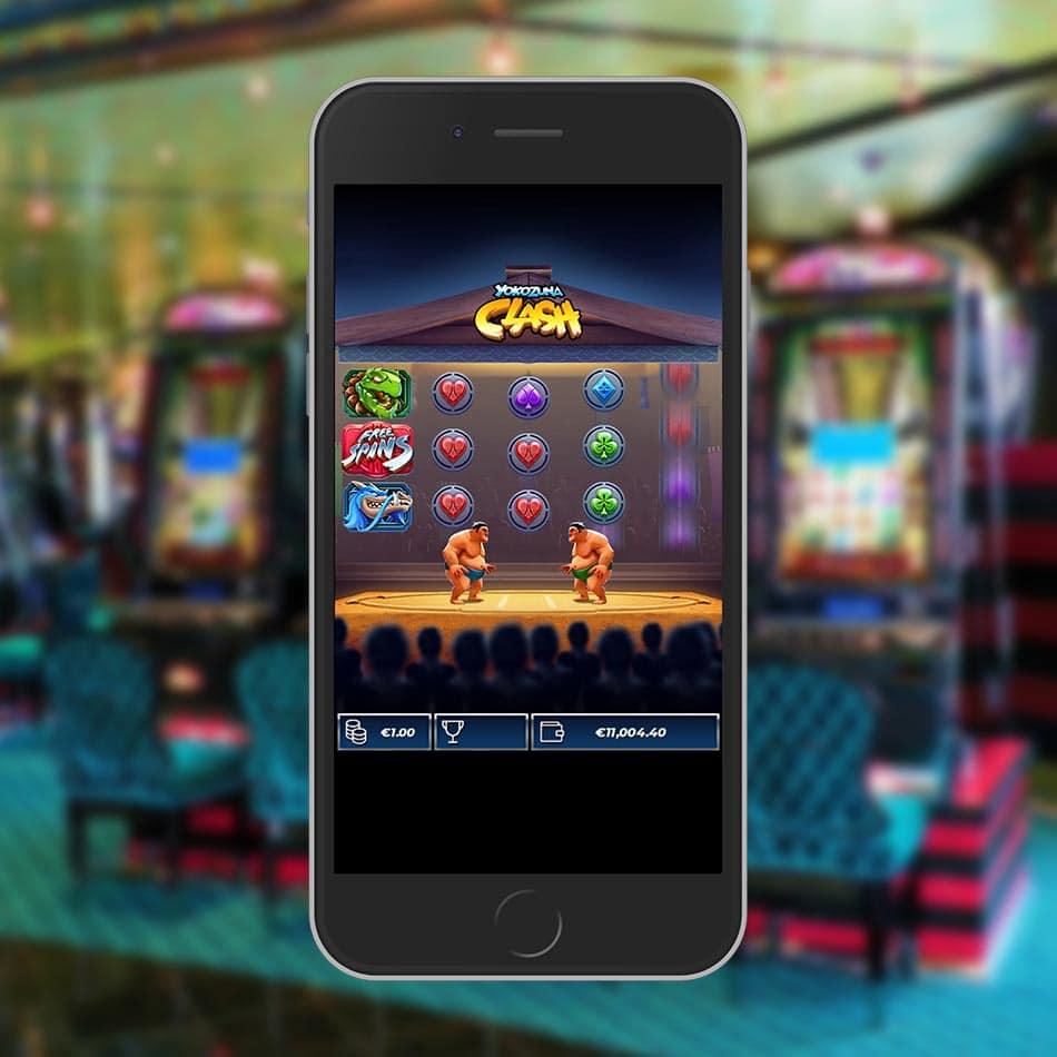 Yokozuna Clash Slot Machine Free Play