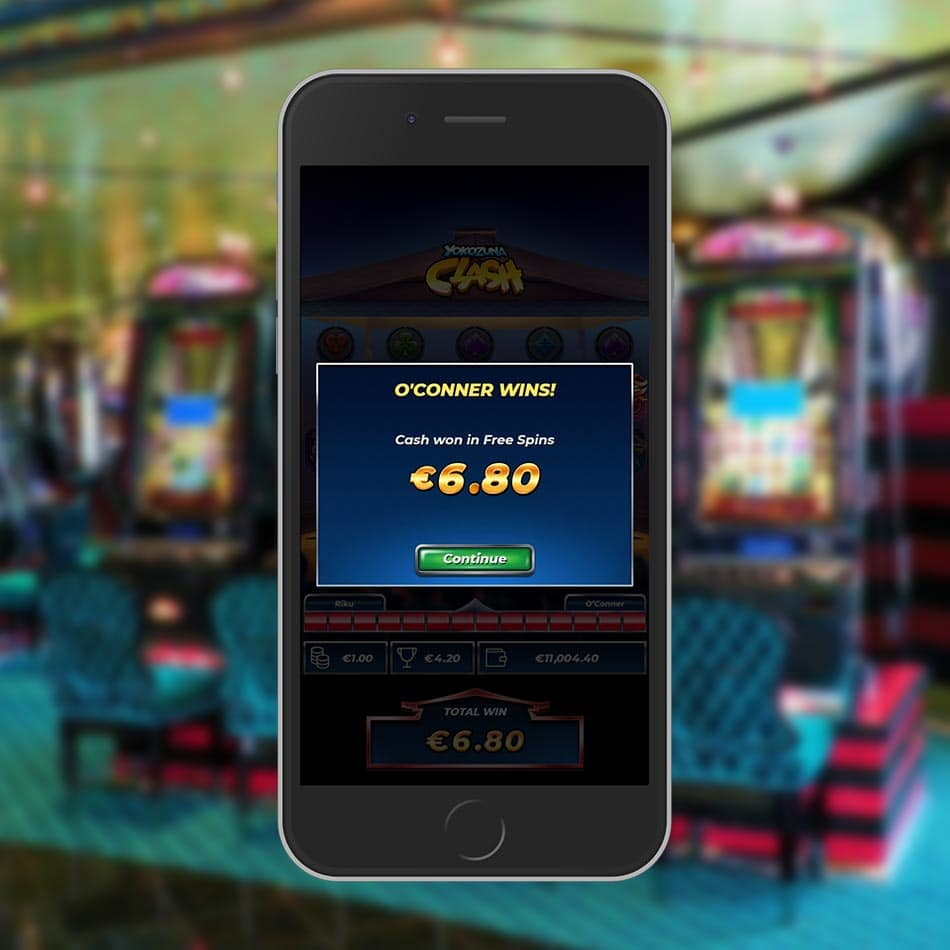 Yokozuna Clash Slot Machine Free Spins Total Win